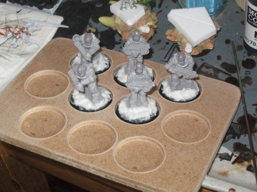 Reanimated troops for my proxy DKK Army