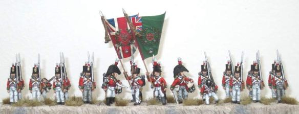 24th (or the 2nd Warwickshire) Regiment of Foot