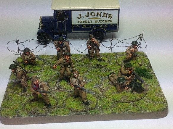 Bolt Action Dad's Army Squad
