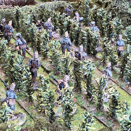 Image copyright Wargames Illustrated. Used without permission. Taken from issue 326 December 2014. Article Brits versus Germans. Page 105. By the Derby Wargames Club. www.wargamesillustrated.net