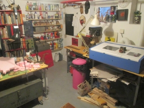 One view of how the workshop used to look.
